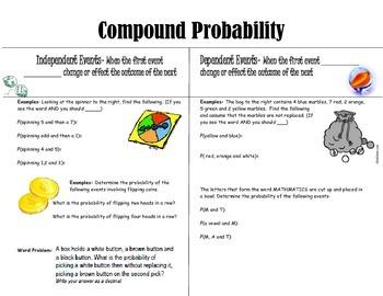 Compound Probability Reteach Activity