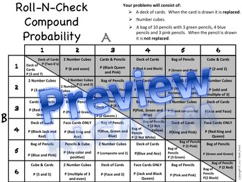 Compound Probability Roll-N-Check