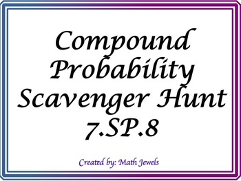 Compound Probability Scavenger Hunt