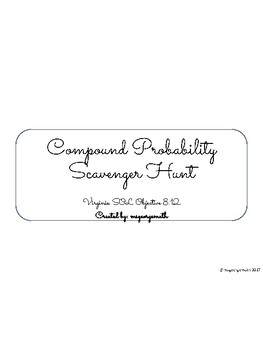 Compound Probability Scavenger Hunt