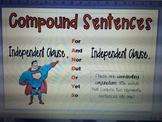 Compound Sentence Anchor Chart