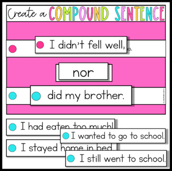 Compound Sentence Building