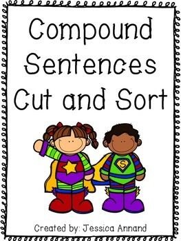 Compound Sentence Cut and Sort 2
