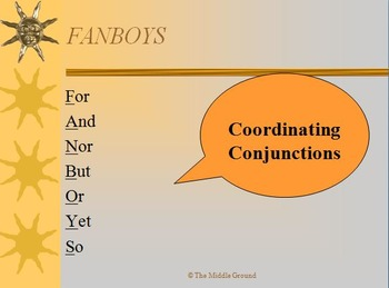 Compound Sentence Introduction Minilesson