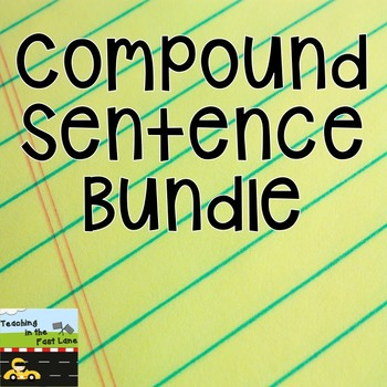 Compound Sentence Literacy Center Bundle