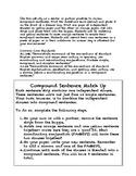 Compound Sentence Match Up: Common Core Center Activity