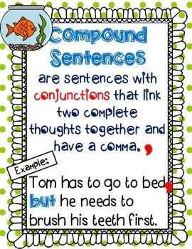 Compound Sentence Pack