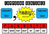 Compound Sentence Poster- Anchor Chart