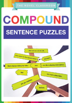 Compound Sentence Puzzles - Literacy Activity