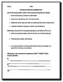 Compound Sentence Quiz