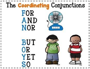 Compound Sentence Sort, Set 5