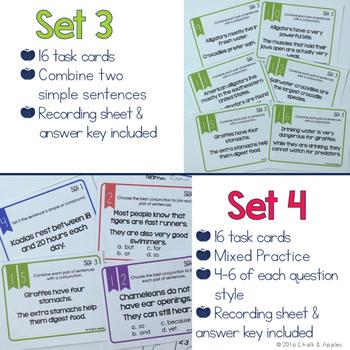 Compound Sentence Task Cards