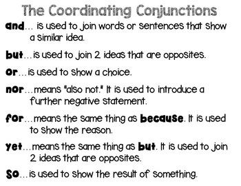 Compound Sentence Sort