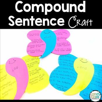 Compound Sentences Activity:  2nd Grade Grammar Task Cards Bundle