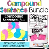 Compound Sentences Activity:  2nd Grade Grammar Task Cards