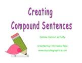 Compound Sentences Center Activity
