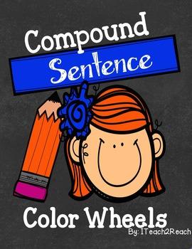 Compound Sentences Color Wheels