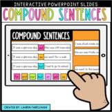 Compound Sentences Digital Slides