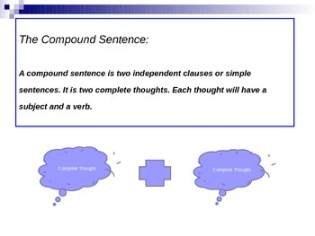 Compound Sentence Power Point