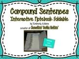 Compound Sentences Interactive Notebook Foldable (Grammar)