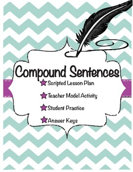 Compound Sentences Lesson/Activity Grade 6 CCSS Knowledge