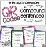 Compound Sentences QR Codes {Common Core}