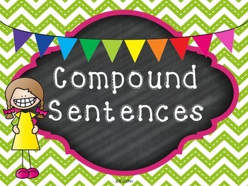 Compound Sentences Task Cards & Printables