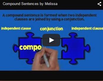 Compound Sentences Video & Activities Bundle
