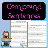 No-Prep Compound Sentences Worksheet