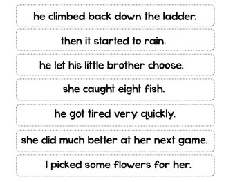 Compound Sentences using commas and conjunctions