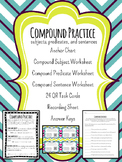 Compound Subject, Compound Predicate, and Compound Sentence Bundle