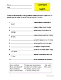 Compound Subjects Worksheet