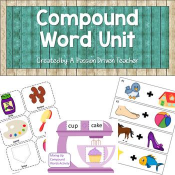 Compound Word Unit Activites