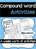 Compound Word Printables and Activities