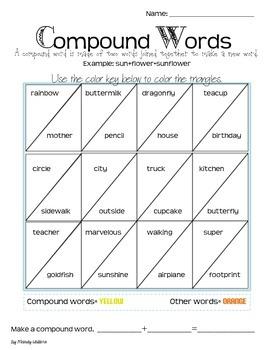 Compound Word Activity