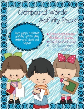 Compound Word Activity Pack Bundle
