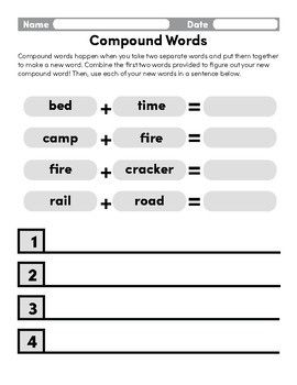 Compound Word Addition