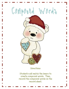 Compound Word Bears