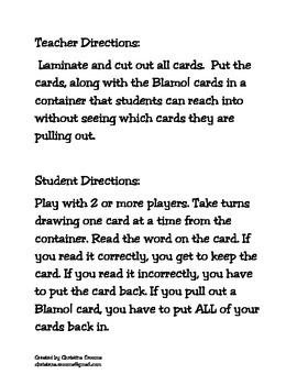 Blends BLAMO! Game