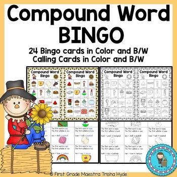Compound Word Bingo