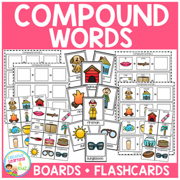 Compound Word Boards + Flashcards