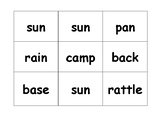 Compound Word Building Cards