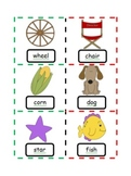Compound Word Building {Pictures with Words}