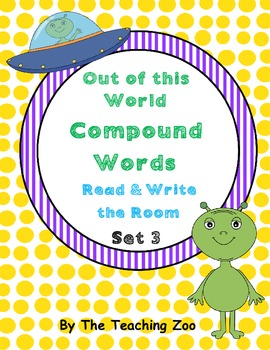 Compound Word Building Set 3 Read & Write the Room