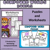 Compound Word Bundle - Worksheets and Puzzles
