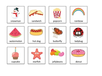 Compound Word CHOP! * Book and Activities * Literacy * Apraxia * Multi-syllabic