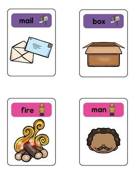 Compound Word Card Games
