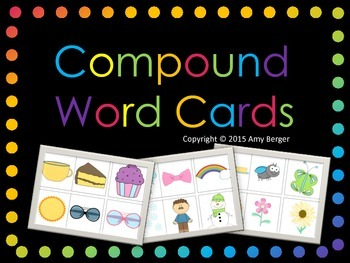 Compound Word Cards