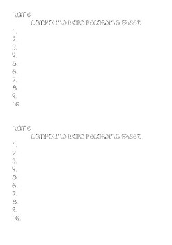 Compound Word Center