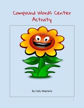 Compound Word Center Activity